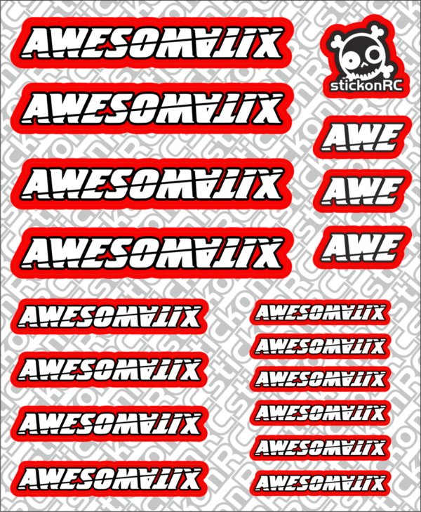 Sponsor Sheet Awesomatix A5