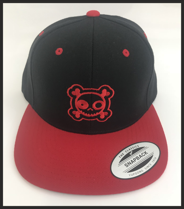 stickonRC Snapback - red/black